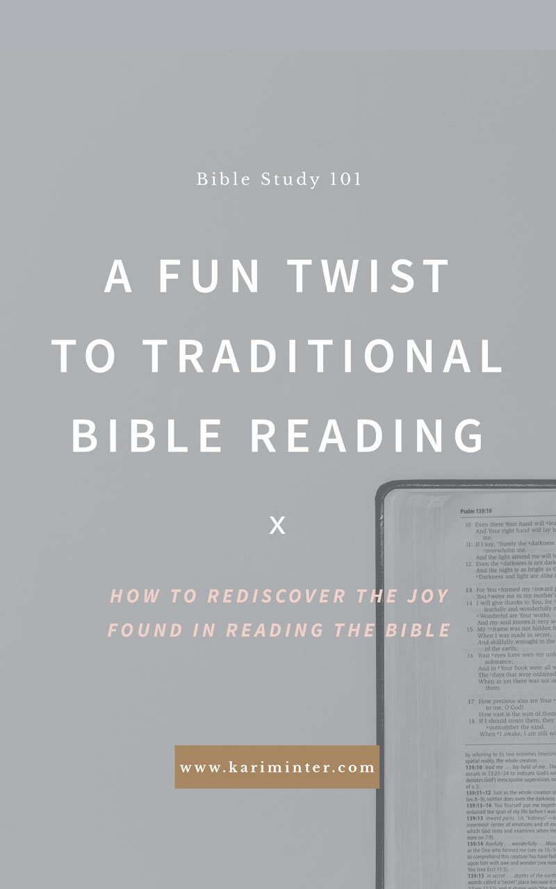 Helping you study the Bible